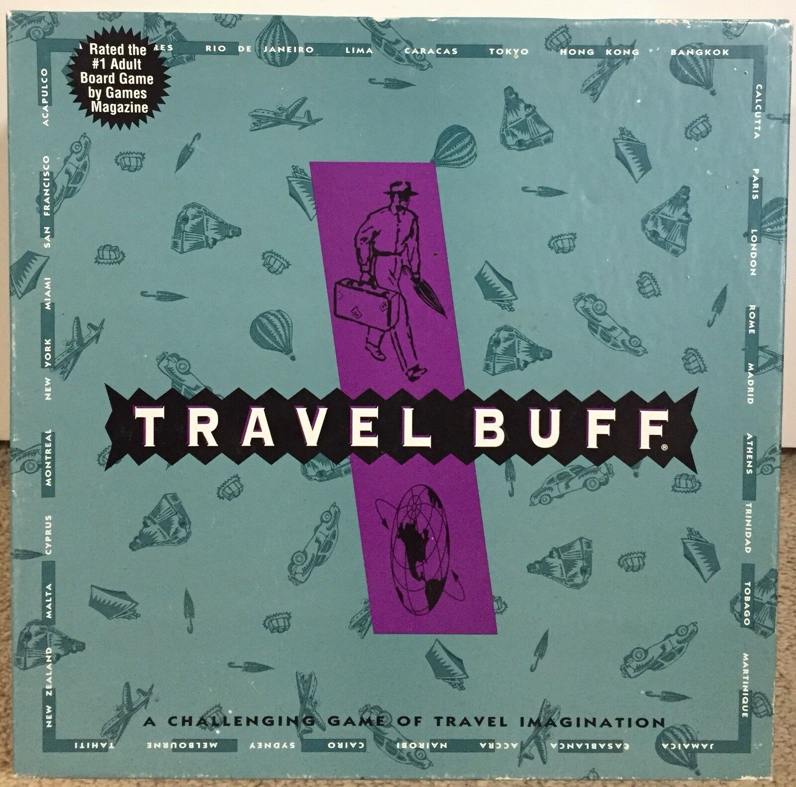 Travel Buff Board Game - Adult