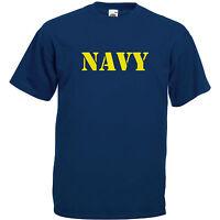 Navy T-shirt Bis 5xl Fun Militär Bundeswehr Marine