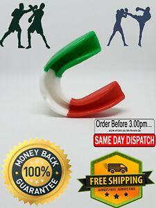 Clear Mouth Guard Gum Shield Teeth Protector Boxing MMA Karate Football Rugby