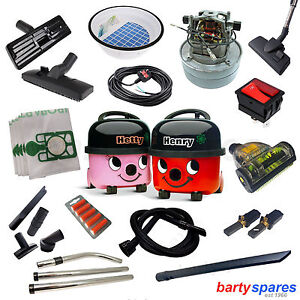 Spares-Accessories-for-Henry-Hetty-Bags-Tools-Hose-Filter-Cable-Motor-Switch