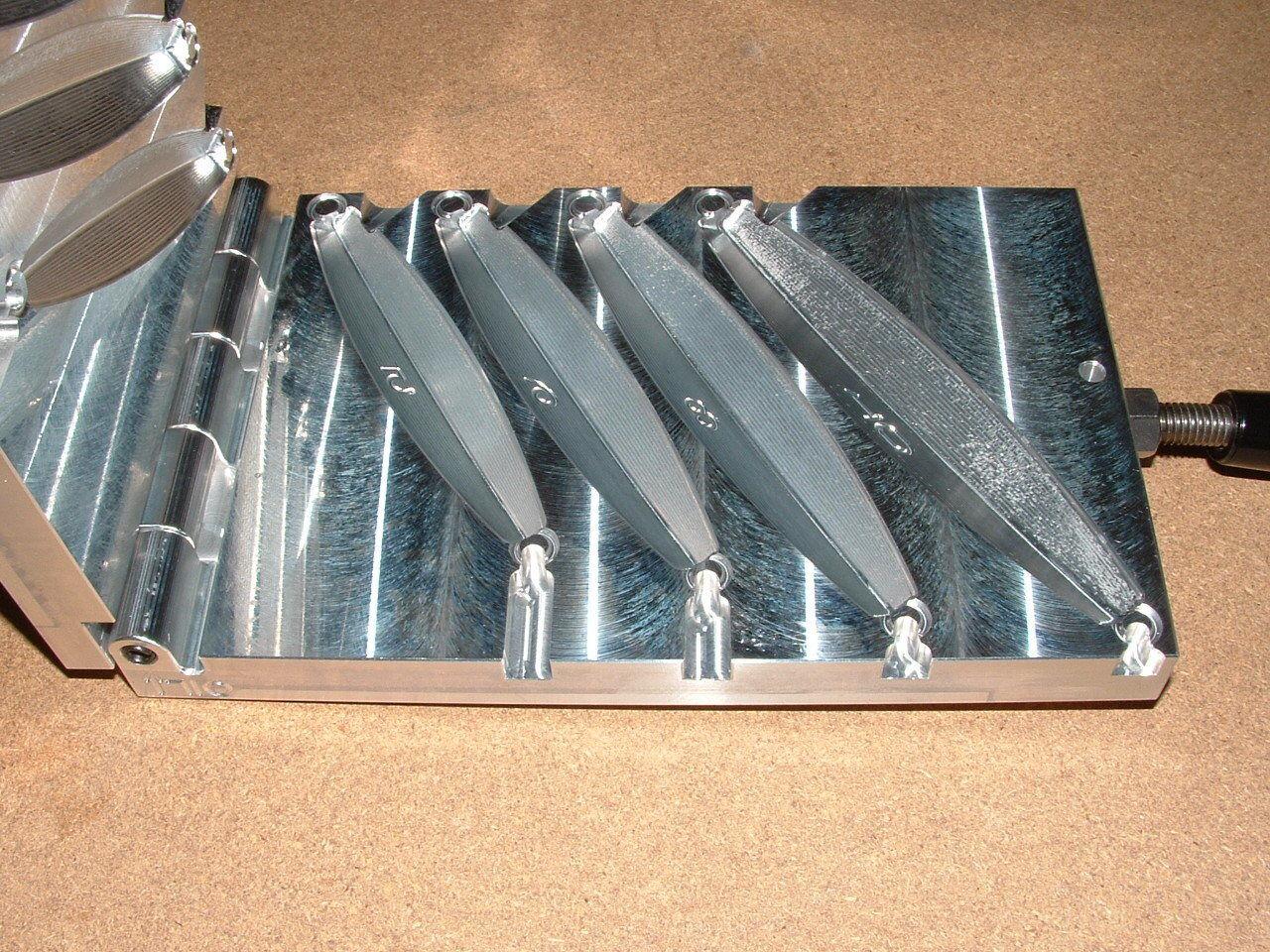 Saltwater D Jig mold mold mold 5,6,8,10oz CNC Aluminum Diamond d0ff15