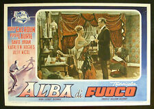 CINEMA-fotobusta ALBA DI FUOCO calhoun, laurie, brian, SHERMAN