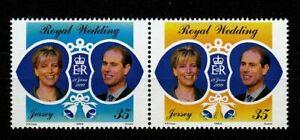 100448-Jersey-1999-Mi-888-9-Royal-Wedding-postfrisch