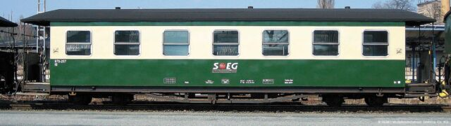 Bemo 3021 872/3021872 Personenwagen 2.Kl. 970234 SOEG Ep5 H0e