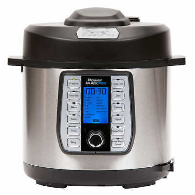 Tristar Power Quick Pot Deluxe 8 Quart Pressure Cooker