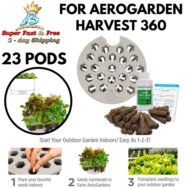 Indoor Pod Garden Kit System Soil Plant Grow Light Hydroponic Herb Seed Set For Sale Online Ebay