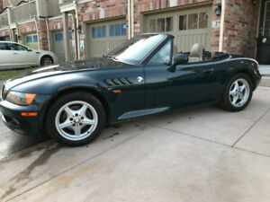 1997 BMW Z3 Convertible (British Racing Green on Tan Leather)