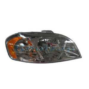 Image Is Loading Tyc 07 11 Chevy Aveo Sedan Headlight Headlamp