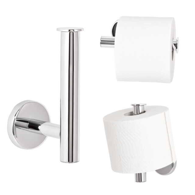 WC-Garnitur aus verchromtem Edelstahl bremermann/® Bad-Serie LUCENTE
