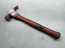 New Listingcraftsman Tools Hammer 16 Oz Hickory Handle Metal Head Reinforced Vintage