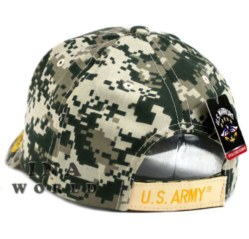 ACU Camo U.S ARMY hat  ARMY VETERAN Military Official Licensed Baseball cap