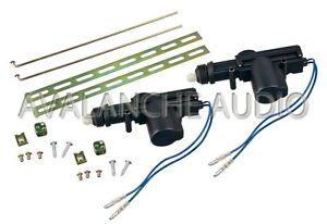 2 x universal auto car truck 12 volt heavy duty power door for 12vdc door lock actuator