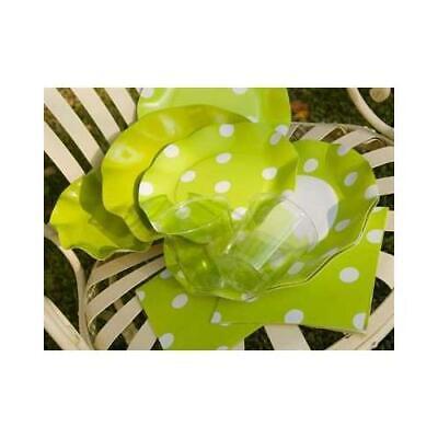 20 Tovaglioli Pois Verde Lime07ptlexclusive Trade S.r.l. Lieve E Dolce