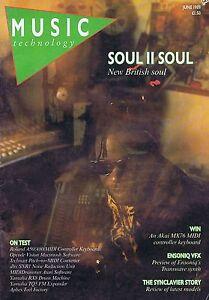 SOUL II SOUL Music Technology Jun 1989