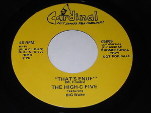 The-High-C-Five-034-That-039-s-Enuf-034-034-You-Bring-Out-The-Boogie-In-Me-034-45-Blues-R-amp-B