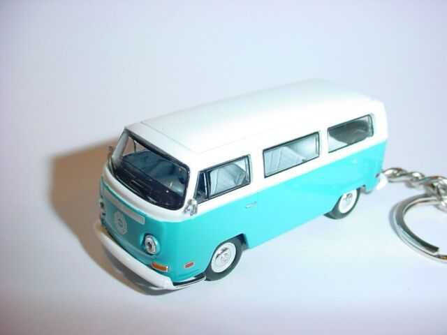 NEW 3D DHARMA INITIATIVE VOLKWAGEN BUS CUSTOM KEYCHAIN KEY CHAIN keyring VW LOST