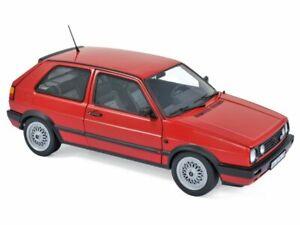 VW Volkswagen Golf GTI - 1990 - red - Norev 1:18