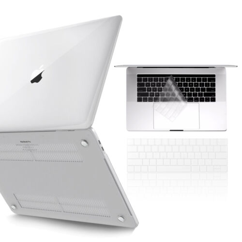 Smooth Crystal Clear Transparency MacBook Air 13 Inch Case 2018 Release A1932