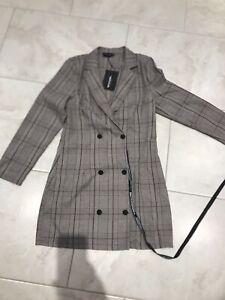 Pretty-Little-Thing-Blazer-Dress-Size-12