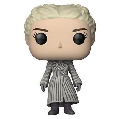 FUNKO POP! TELEVISION: Game of Thrones - Daenerys (White Coat) [New Toy] Vinyl