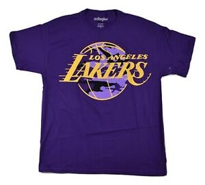 NBA-Hardwood-Classics-Mens-Los-Angeles-Lakers-Basketball-Shirt-New-S-L