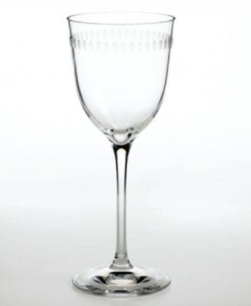 Wedgwood Martha Stewart Ringlet vino conjunto de cuatro 4 copas de vino