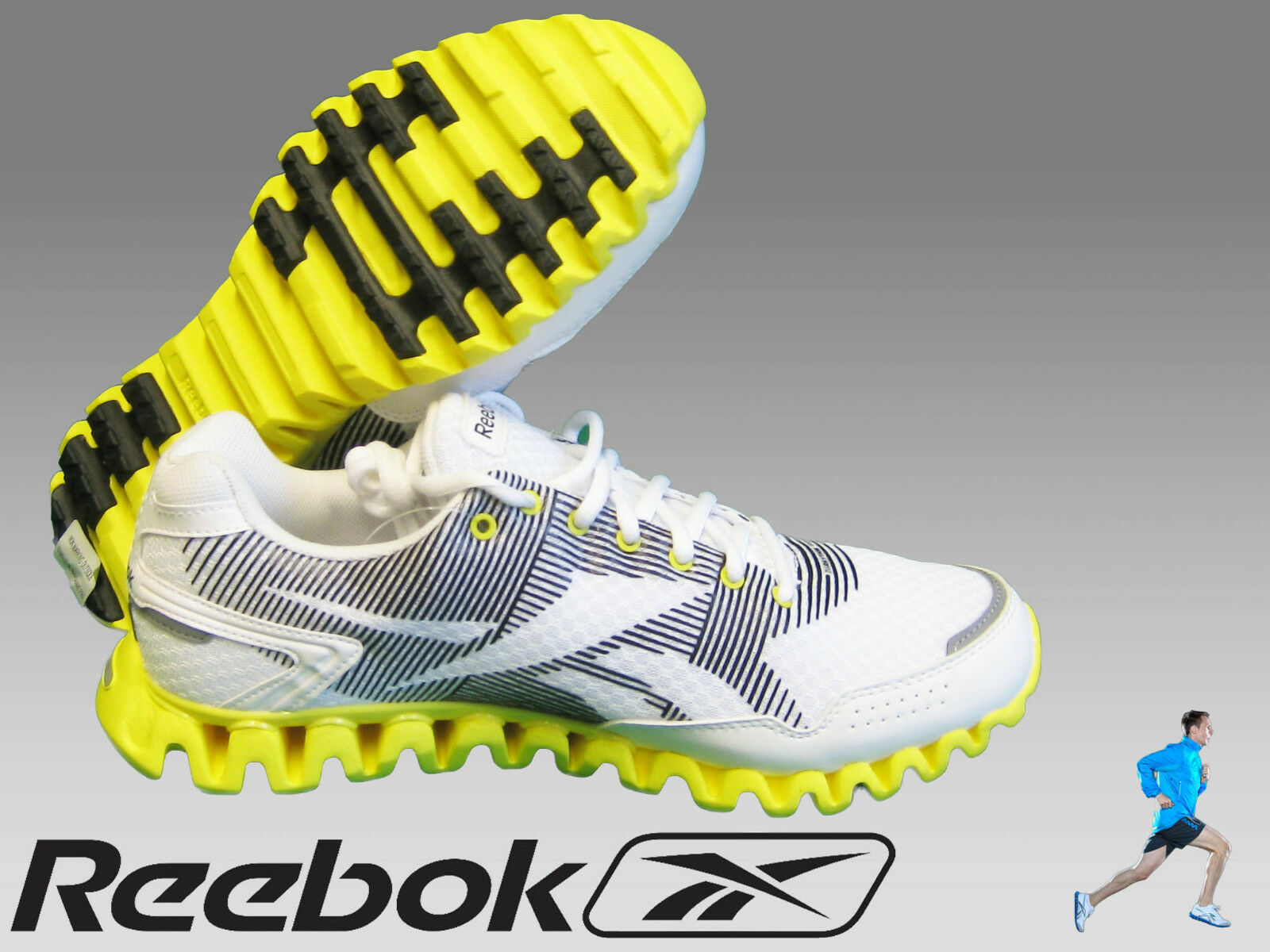 New REEBOK  ZIGNANO RYTHM  RUNNING SHOES Mens Running Running Running Trainers UK 7.5  EU 41 23dc9f