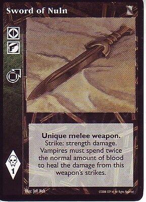 2 x Sword of Nuln VTES CCG Mixed