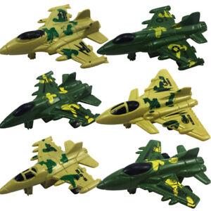 Plastic-Military-Air-Bus-Model-Kids-Pull-Back-Camo-Plane-Christmas-Toys-FM