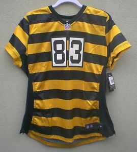 100% authentic 81fe0 d0825 Details about Nike Heath MIller BumbleBee Pittsburgh Steelers Womens Jersey  $100 - SZ 2XL