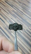 RR Rare antique Italian British French German collectible skull ring 19-20th cen