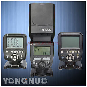 Yongnuo Flash Speedlite Controller YN660 YN560TX C YN560TX N for Canon or Nikon