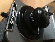 """Olympus OM kit for Bellows OM-RMS """"PM-Mtob' +20mm f3.5 RMS MacroPhoto Lens =10:1"""