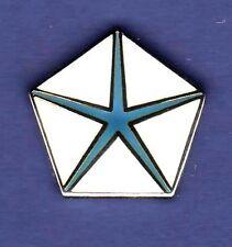 CHRYSLER PENTA STAR HAT PIN LAPEL TIE TAC ENAMEL BADGE #0114