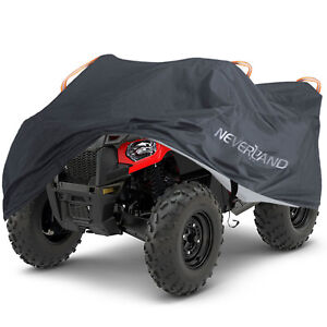Waterproof Full Atv Cover 4x4 Storage Black For Polaris Sportsman 550 Efi Xp 570 Ebay