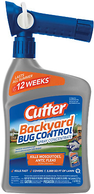 Cutter Backyard Bug Control Spray Concentrate, 32-Ounce ...
