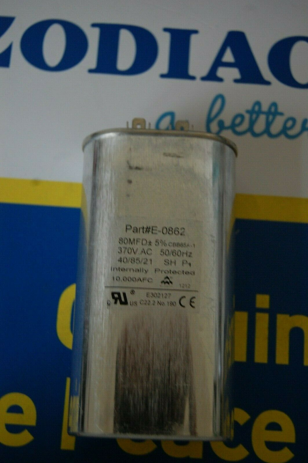 JANDY R3001203 Condensador para AI-ti bomba de calor 80UF 370V