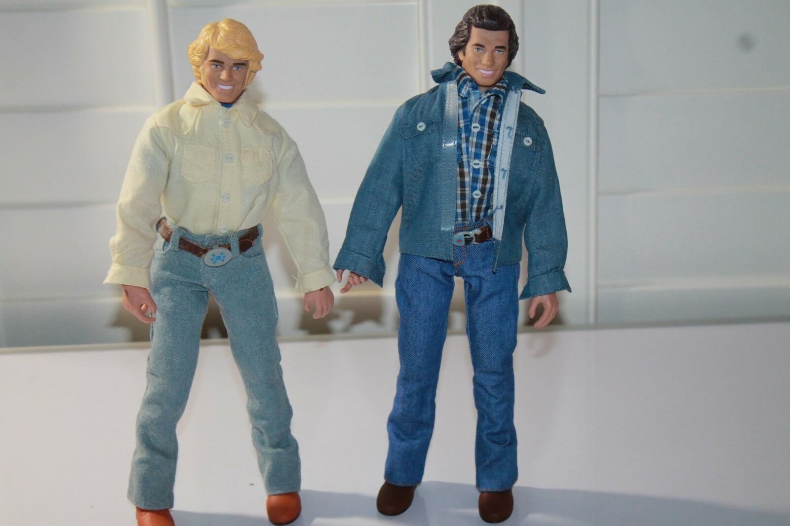 Dukes of Hazzard  Bo, Bo, Bo,  & Luke duke 12 inch figures loose new read 6c9623