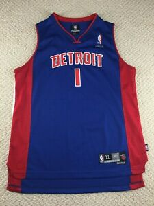 buy popular 8611d 0d56d Vintage Detroit Pistons Chauncey Billups Jersey Youth XL ...