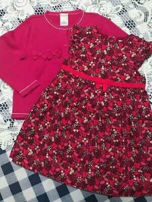 GYMBOREE VERY MERRY IVORY CABLE SPARKLE  HOLIDAY SWEATER DRESS 6 12 18 24 2 NWT