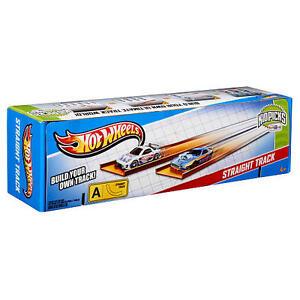 Hot-Wheels-Streckenteile-50-Stueck-mit-Verbinder-Piste-Rennstrecke-Race-Track-Set