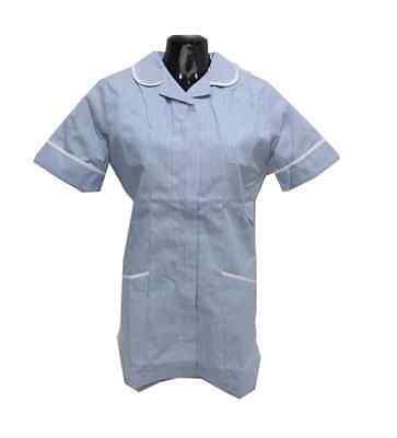 Boyd Cooper Womens White Nurse Carer Vet Healthcare Tunic Size 12