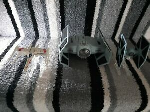 Star Wars Micro Machines Action Fleet  Darth Vader's TIE  Fighter/hotwheels lot