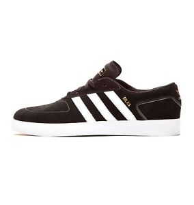 Adidas SILAS VULC Black White Power Red Casual Skate S85070 (320) Men's Shoes