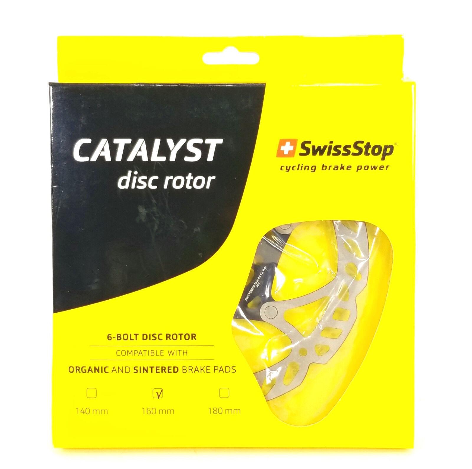 SwissStop Catalyst Mountain Bike Disc Rotor 160mm