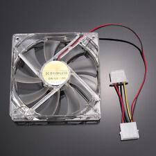 120mm 4Pin 4-LED Computer PC CPU Cooler Lüfter Kühlventilator Gehäuse Kühler Fan