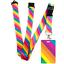 High-quality-ID-badge-holder-RAINBOW-STRIPES-amp-Secure-Lanyard-neck-strap-soft thumbnail 14