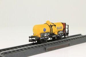 Fleischmann-8845K-Spur-N-Kesselwagen-OLEX-2-achsig-mit-BrHs