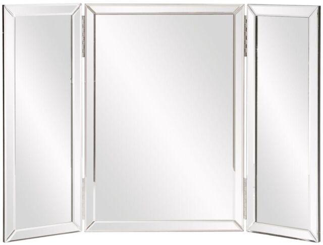 Howard Elliott 99003 Tripoli Trifold Vanity Mirror Ebay