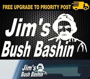 JIM-039-S-BUSH-BASHING-Sticker-Decal-Funny-MUD-4x4-4WD-Car-Ute